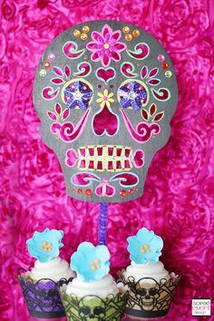   Day of the Dead Candy Buffet – Monster High Skelita Calaveras Party   http://soiree-eventdesign.com