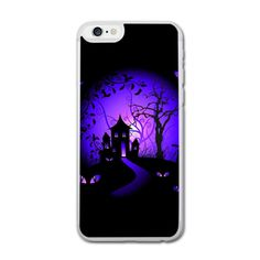 Halloween iPhone 6 Hard Case (4.7 Inch) Transparent iPhone 6/6S Hard... ($20) ❤ liked on Polyvore featuring accessories and tech accessories