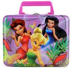 Disney Fairies Tin Lunch Box$9.99