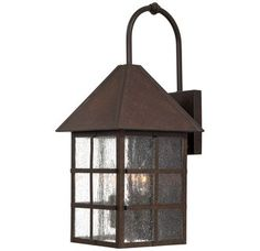 View the The Great Outdoors GO 8582 3 Light Outdoor Wall Sconce from the Townsend Collection at Build.com.