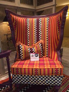 #mackenziechilds @mackenziechilds #hpmkt #hpmktss the Sunset Outdoor Butterfly Chair by MacKenzie-Childs.
