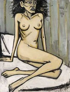 View Nu assis By Bernard Buffet; oil on canvas; x 45 in. x cm. Access more artwork lots and estimated & realized auction prices on MutualArt. Chef D Oeuvre, Oeuvre D'art, Illustrator, Museum, Magritte, Expositions, Sculpture, Figure Drawing, Art Forms