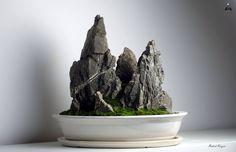 "Koke-Bonkei ""Przenoszący Góry"" - Aquaman Nature Studio"