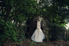 Homemade Crumbling Chapel Wedding: Wendy & Alex