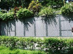 Memorial to all the victims of the El Salvadoran Civil War. This memorial is very long.