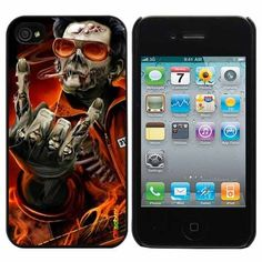 Dark Zombie Fashion Design Hard Case Cover Skin Protector for Iphone 4 4s Iphone4 At