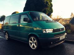 My VW t4 showing off its new side bars from RJ's campervans :)
