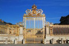 Parigi. Versailles, cancello di ingresso