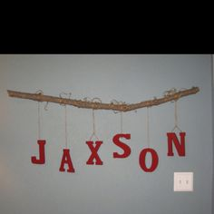 IF I ever had another boy I would name him JAXSON spelled just like that!