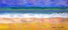 A Day by the Sea  Pastel   Joseph Chubb