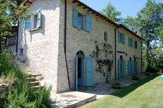 Italian villa + olive grove | dust jacket attic