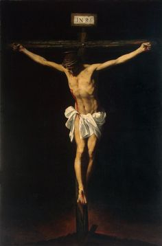 Alonso Cano, Crucifixion, 17th c. (via Cate Therese)