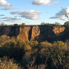 Le grand canyon de pont caffino à château thebault