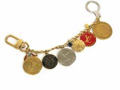 Louis Vuitton Porte Cle Chaine T&B Key holder Metal Multic M60071(BF056290)
