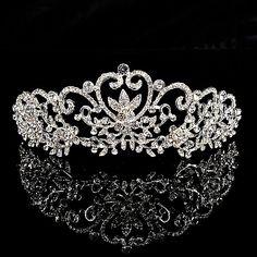 Joy of Love Themed Glitter Wedding Tiara