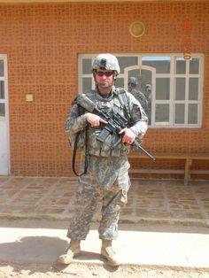 U.S. Army officer, Iraq war.