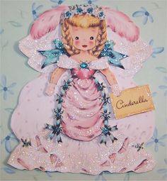 Cinderella Hallmark Vintage Image digital