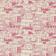 St. Ives wallpaper by Sanderson. Designer - Fiona Howard http://www.fionahoward.com/clients/sanderson.html