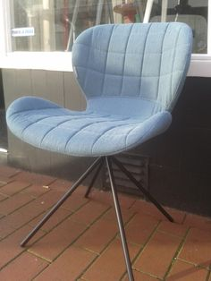 Chair OMG blue, Zuiver