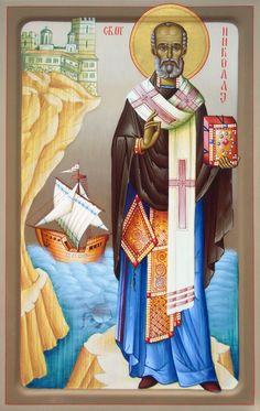 Saint Nicholas, Saints, Princess Zelda, Blog, Painting, Fictional Characters, Painting Art, Blogging, Paintings