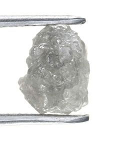 1.50 african Natural Loose Raw Silver Color Rough Diamond Jewelry