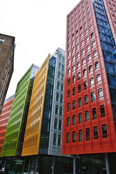 Central St. Giles, London (Renzo Piano Architect). By F. Severi) | #Architecture