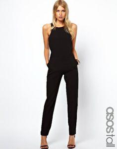 ASSO Tall Black Jumpsuit