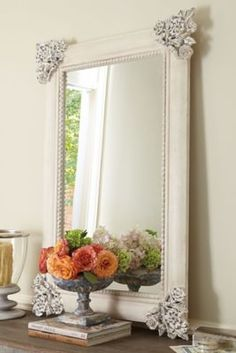 Bordeaux Mirror - French Antique Mirror, French Statement Mirror | Soft Surroundings