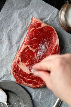12 Tips for the Perfect Steak ~ 1. Pick and Choose; 2. Patience; 3. Pat Down; 4. Seasoning; 5. Get Your Pan Hot; 6. Oiling; 7. Doneness; 8. Don't Fiddle; 9. A Restaurant Secret; 10. Give It A Rest; 11. Slice Against The Grain; 12. Practice Makes Perfect! #Steaks