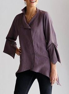 Lynn Mizono - New Moon Tencel Shirt review   buy, shop with friends, sale   Kaboodle
