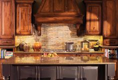In The Rustic Kitchen Styles and Colors Are Perfectly Belneded to Create the Mountain Resort Feel In Your Kitchen