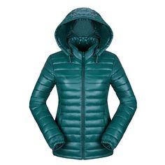 17a2e552fe7 Newbestyle Fashion Women Winter Down Cotton Jacket Ultra Lightweight Coats  Warm Hooded Jacket Zipper Short Parkas