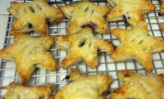 Blueberry Hand Pies- King Arthur Flour recipe.