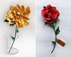 Flori din hârtie by Frances & Francis   Civilizatia   Revista de moda frumusete si stil de viata