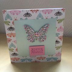 Carte de vœux papillon pour un anniversaire : Cartes par sab-and-paper