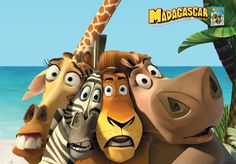 Madagascar Characters