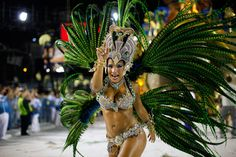 Visiting Rio Carnival is one thing, but taking part in the Sambadrome parade is an experience second to none. An hour of non-stop dancing in front of thousands of fans to a relentless samba beat.