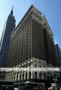Studio apt for rent in Midtown South at $2,775/mo.Doorman, Elevator, Health Club, Garage,Laundry, Valet, Roof Deck, Common Outdoor Space, Renovated. Contact us for details.Web ID:104168. #NYCApartments #MovingToNYC #NYCrentals #ApartmentHunting #Moving #NYC #NoFeeApt