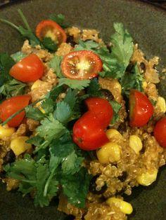Mexican Quinoa Recipe Super easy, super yummy!