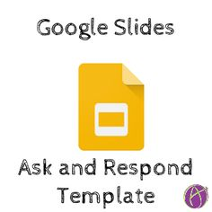 This Google Slides Ask Template allows teachers and students to interact collaboratively even when they are not in the same physical space.