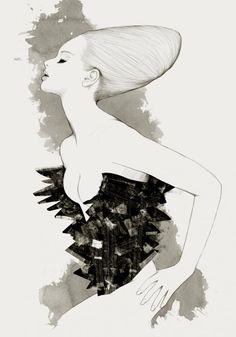 Will Ev, aka Nazgrelle is an artist based in Malaysia. He created incredible fashion illustrations in watercolor style using and Bamboo Wacom Tablet with Photo References. Fashion Prints, Fashion Art, White Fashion, Illustration Photo, Beauty Life Hacks Videos, Fashion Sketches, Fashion Illustrations, Illustration Fashion, Beauty Salon Design