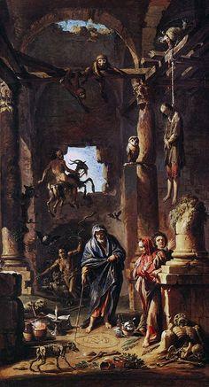Andrea Locatelli - Magic Scene (1741)