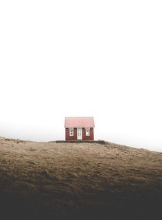 Living in one of the worlds most remote places and with one of the lowest population densities in the world, there are plenty of loneliness to be captured in Iceland Minimal Photography, Landscape Photography, Nature Photography, Travel Photography, Cabins In The Woods, Travel Aesthetic, Iceland, Countryside, Travel Inspiration