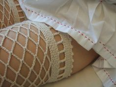 Crochet Thigh Highs