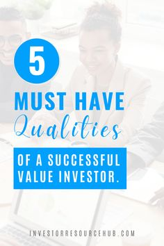 Our favorite professionals all have certain qualities in common that make them highly successful value investors. Here we look at 5 of them which you can begin to apply in your own investing. #valueinvesting #investing #warrenbuffett Learn Stock Market, Stock Market Investing, Best Way To Invest, Where To Invest, Value Investing, Investing Money, Stock Market Training, Stocks For Beginners, Dividend Investing