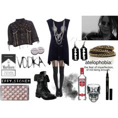 """Effy Stonem #3"" by death-to-destiny on Polyvore"