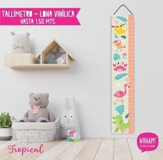 Comprar Tallímetro Lona en Whaam! Diseño & Vinilos | Filtrado por Más Vendidos Tropical, Shelves, Kids, Home Decor, Vinyls, Cards, Young Children, Shelving, Boys