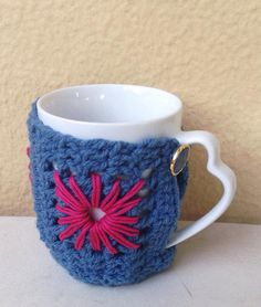 Items similar to Crochet Mug Sweater,Cosy Mug Sweater , Granny Square Mug Cozy on Etsy Knitting Accessories, Mugs, Trending Outfits, Unique Jewelry, Handmade Gifts, Crochet, Tableware, Cosy, Vintage