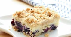 Blueberries and lemon combine in a coffee cake that is worthy of any occasion. I have a huge grin on my face today and I am positively...