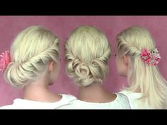 3 romantic summer hairstyles for medium long hair I remember seeing a pin about one of these hair styles